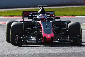 Click here to open the Haas VF-17 Ferrari gallery