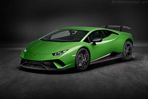 Click here to open the Lamborghini Huracán Performante Coupe gallery