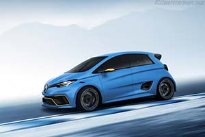 Click here to open the Renault Zoe e-Sport Concept gallery