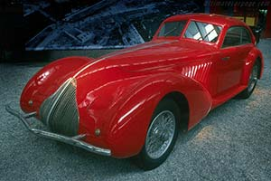 Click here to open the Alfa Romeo 8C 2900A Pinin Farina Berlinetta gallery