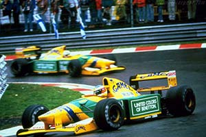 Click here to open the Benetton B192 Cosworth gallery