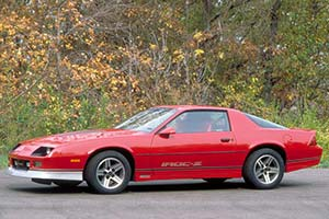 1985 - 1990 Chevrolet Camaro IROC-Z - Images, Specifications