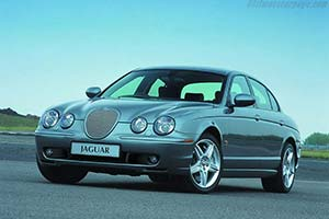 Click here to open the Jaguar S-Type R gallery