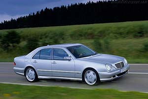 Click here to open the Mercedes-Benz E 55 AMG gallery