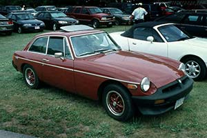 Click here to open the MG B GT gallery