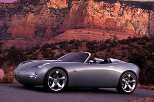 Click here to open the Pontiac Solstice Roadster Concept gallery