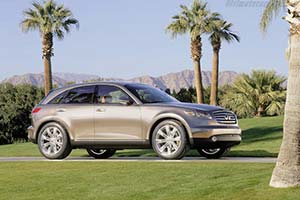 Click here to open the Infiniti FX45 gallery