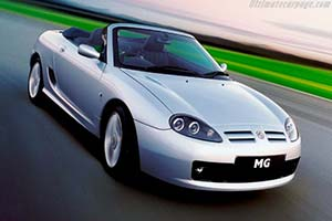Click here to open the MG TF 160 gallery