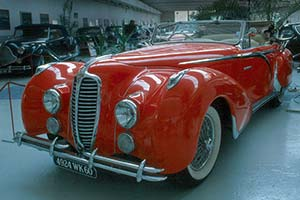 Click here to open the Delahaye 135 MS Figoni & Falaschi Cabriolet gallery