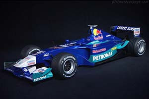 Click here to open the Sauber C21 Petronas gallery