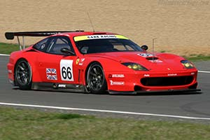 Click here to open the Ferrari 550 GTS Maranello gallery
