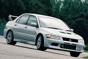 Click here to open the Mitsubishi Lancer EVO VII FQ-300 gallery