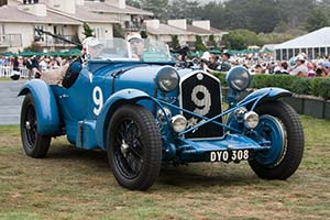 Click here to open the Alfa Romeo 8C 2300 Brianza Le Mans Spider gallery