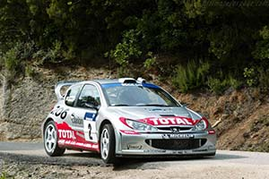 Click here to open the Peugeot 206 WRC gallery