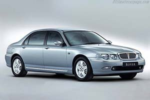 Click here to open the Rover 75 Vanden Plas gallery