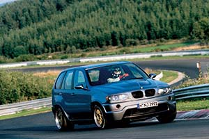 Click here to open the BMW E53 X5 Le Mans gallery