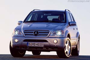 Click here to open the Mercedes-Benz ML 55 AMG gallery