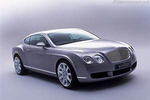 Click here to open the Bentley Continental GT gallery