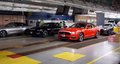 Mustang Convertible Begins Shipping to Ford Dealers