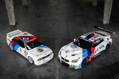 BMW M6 GT3 retro livery