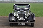 Bentley 4¼ Park Ward Sports Coupe